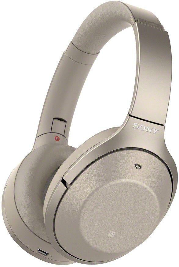 Sony WH-1000XM2 zlaté