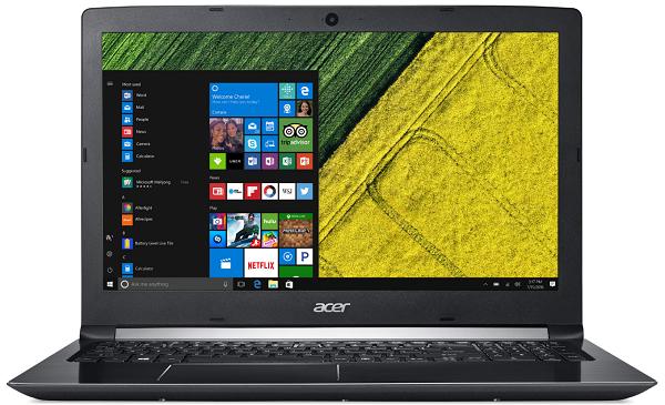 """Acer Aspire 5 A515-51G-8723 NX.GTCEC.002 + dárek Logo brašna na 15,6"""" notebook (černá), eScan Internet Security Suite Antivirový software na 90 dní, Yenkee YMS 002BK bezdrátová myš zdarma"""