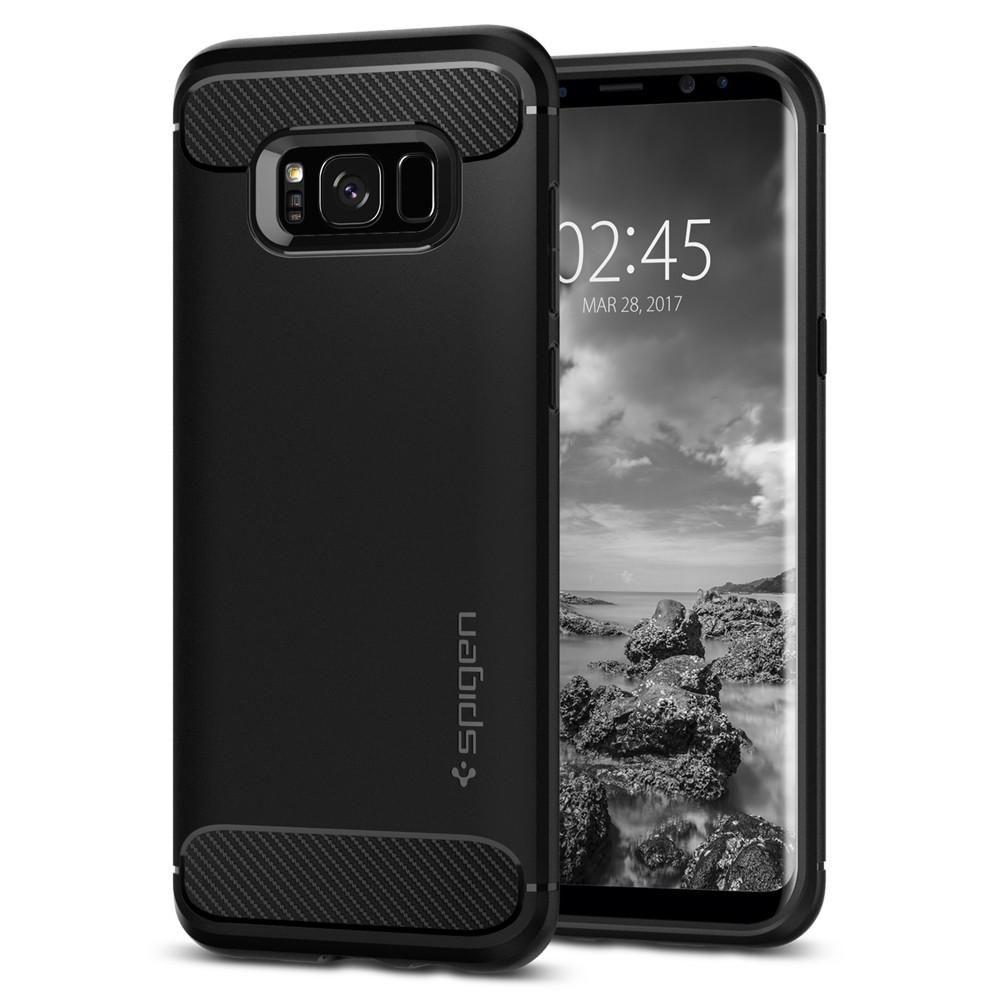 Spigen Samsung Galaxy S8 Plus Case Rugged Armor, černá