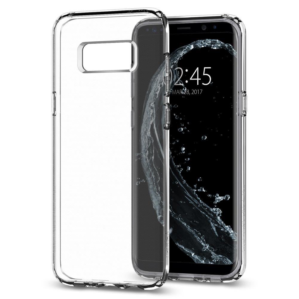 Spigen Galaxy S8 Plus Case Liquid Crystal, transparentní