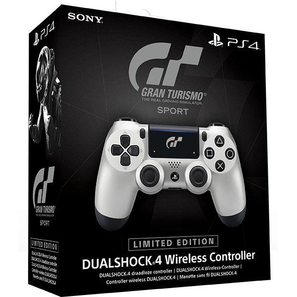 Sony PS4 DualShock 4 v2, GT Sport