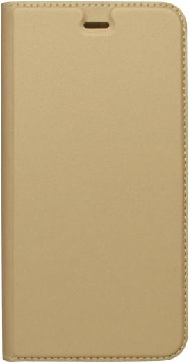 Mobilnet knížkové pouzdro pro Huawei P9 Lite 2017, zlatá
