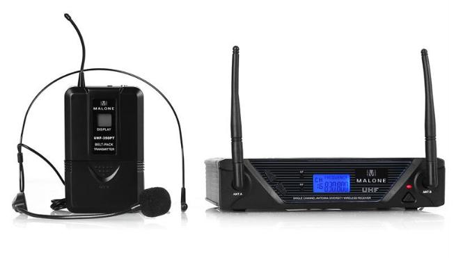 Malone UHF-350 Solo bezdrátový mikrofonní set