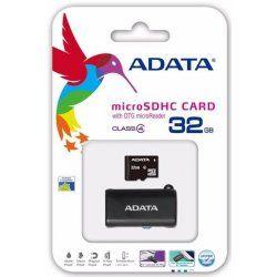 ADATA microSDHC 32 GB Class 4 + OTG USB čtečka