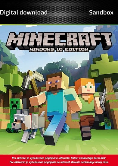 Minecraft Windows 10 Edition - PC hra