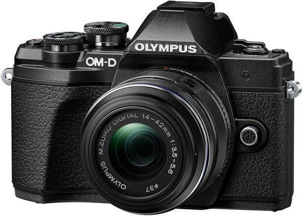 Olympus E-M10III Kit černá