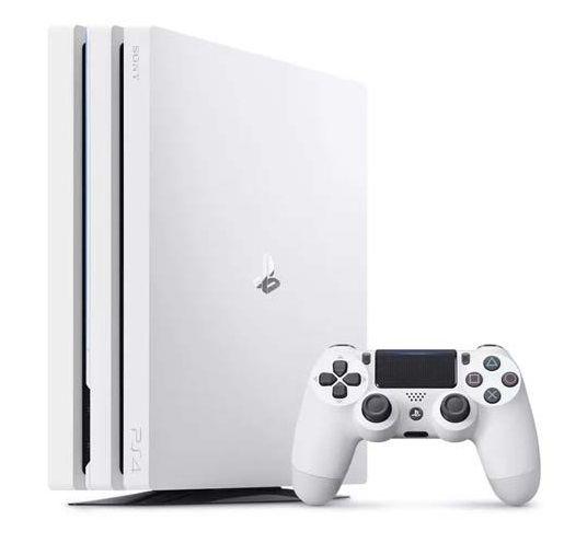 Sony PlayStation 4 Pro bílá + dárek God of War - PS4 zdarma