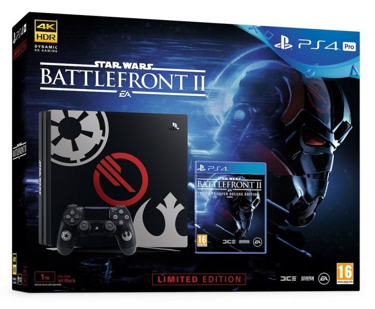 Sony PlayStation 4 Pro Star Wars + Battlefront II