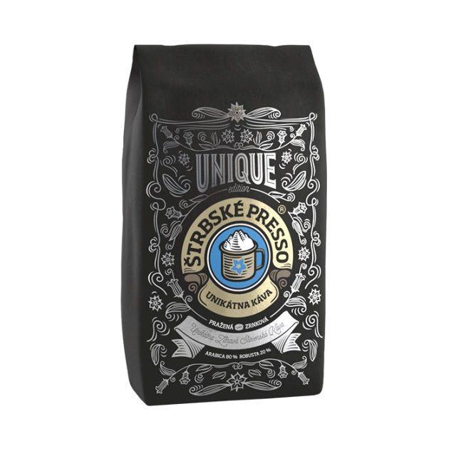 Štrbské Presso Unique Silver zrnková káva (1kg)