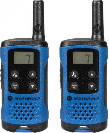 """Motorola TLKR T41 vysílačka modrá - dodatečná sleva 150 Kč po zadání kódu """"m03let150"""""""