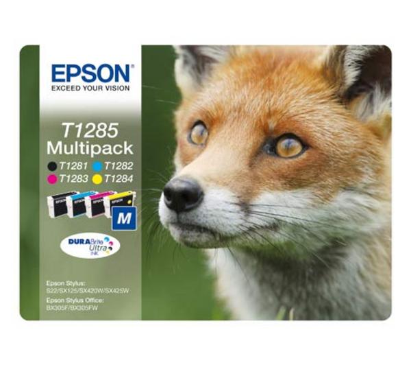 Epson T1285 M color (líška) - inkoustová náplň