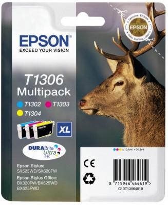 Epson T1306 XL color (jeleň) - inkoustová náplň