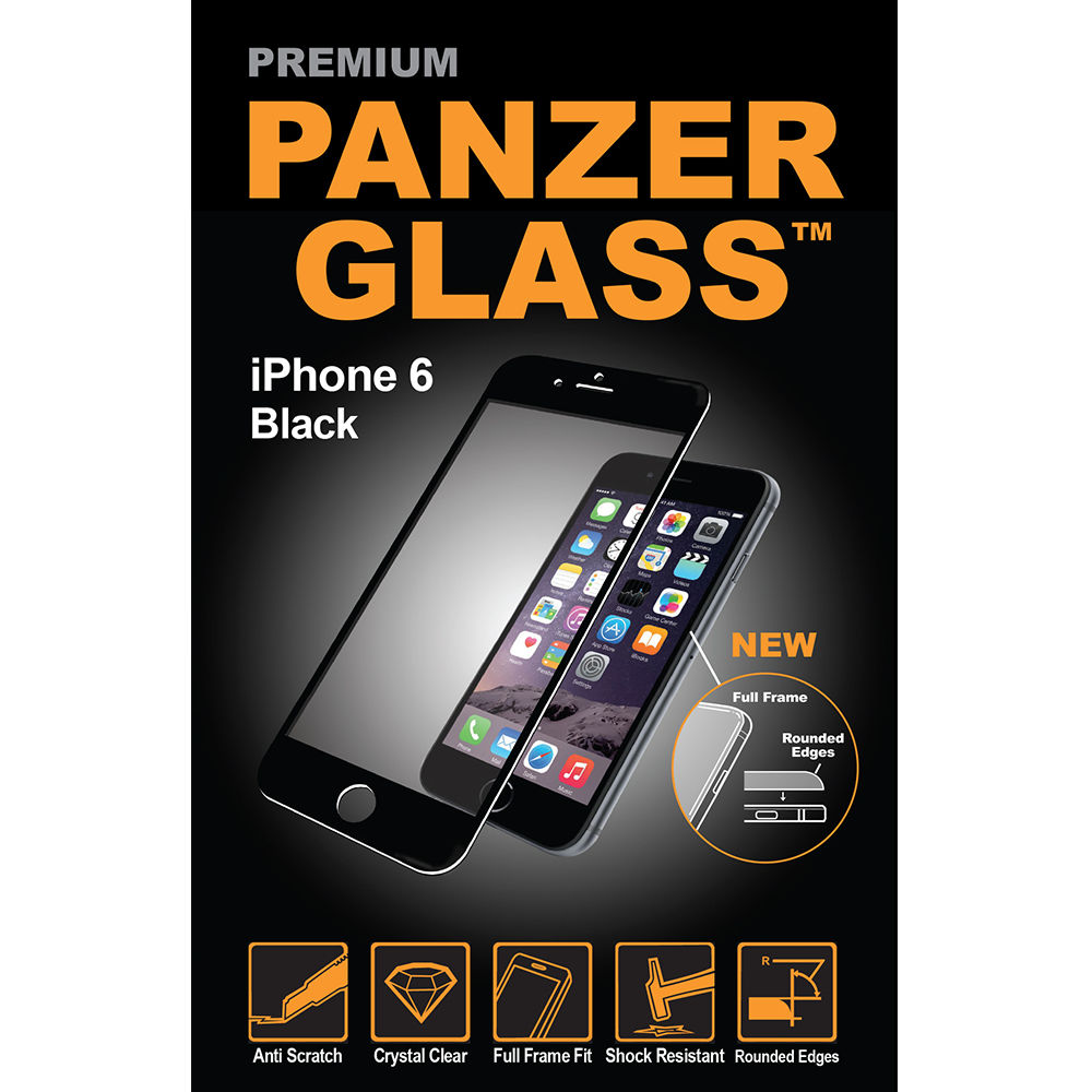 Panzerglass Premium iPh 6/6s (černá)