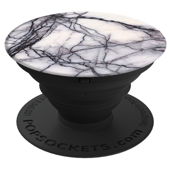Hama PopSocket držák na mobil, White Marble