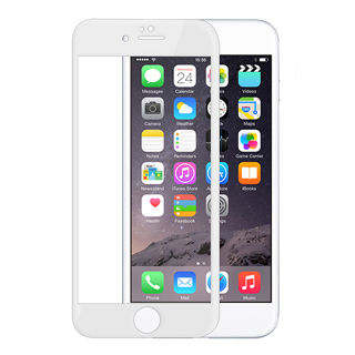 Devia tvrzené sklo pro iPhone 6/6S, pure white