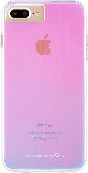 Case-Mate Naked Tough pouzdro pro iPhone 6+/6s+/7+/8+, iridescentní
