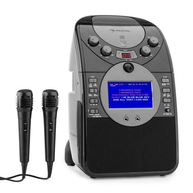 Auna ScreenStar černý karaoke systém