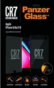PanzerGlass CR7 tvrzené sklo pro iPhone 8/7/6S/6