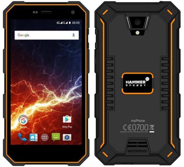 MyPhone Hammer Energy 3G oranžovo černý