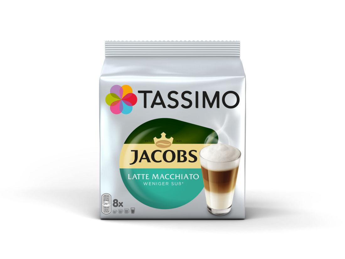 Tassimo Jacobs Macchiato nízky obsah cukru (8ks)