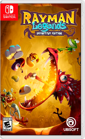 Rayman Legends: Definitive Edition - Nintendo Switch