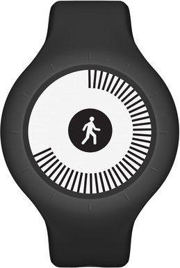 Nokia Go fitness náramek, černý