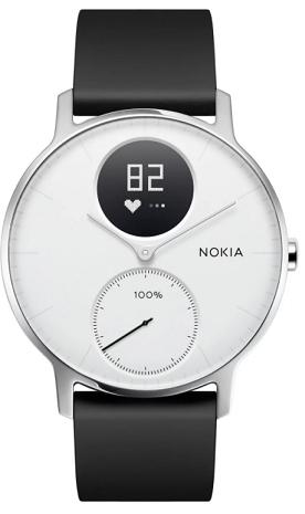 Nokia Steel HR 36mm černo-bílé