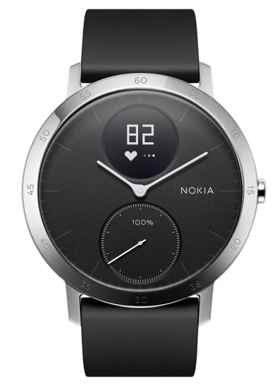 Nokia Steel HR 40 Chytré hodinky, čierne