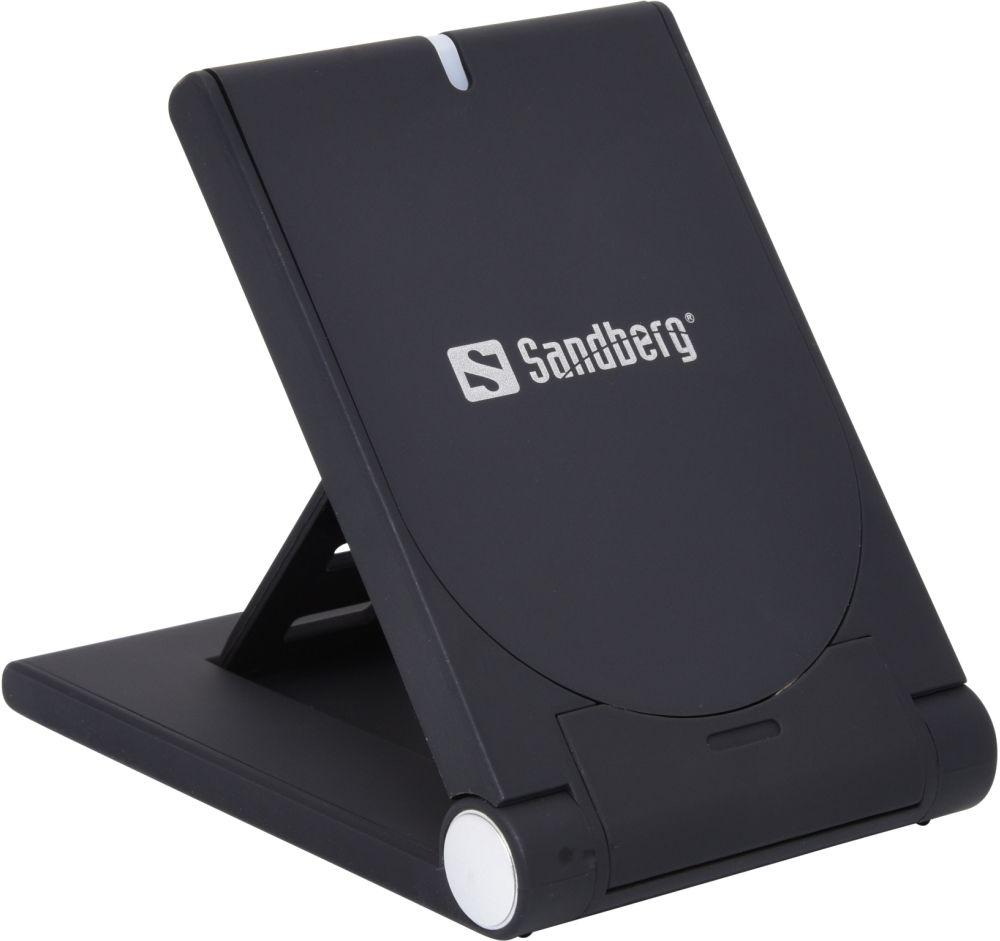 Sandberg FoldStand 5W bezdrátová nabíječka, černá