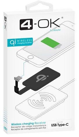 4-OK USB-C přijímač pro bezdrátové nabíjení