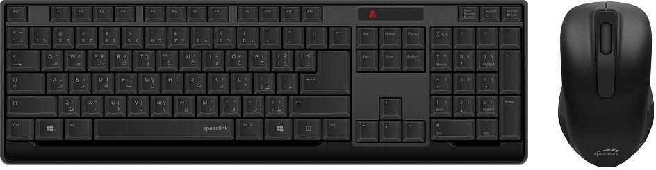 Speedlink Niala - Bezdrátová klávesnice a myš