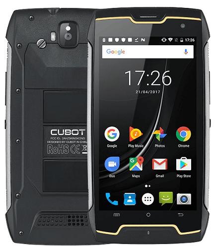 Cubot King Kong Dual SIM černý
