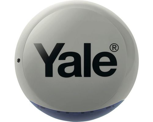 Yale Venkovní siréna (šedá)