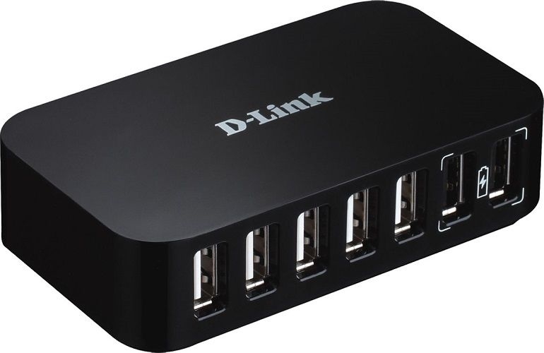 D-Link DUB-H7 7-Port - USB 2.0 hub