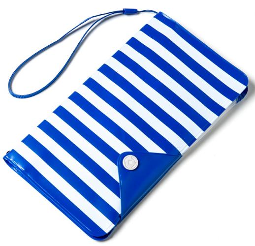"""Celly Splash Wallet pro mobily do 5,7"""", modrá"""
