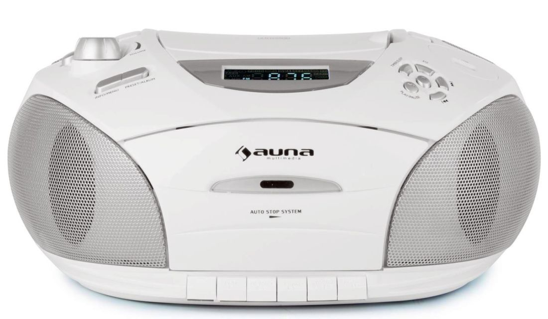 Auna RCD220 bílý