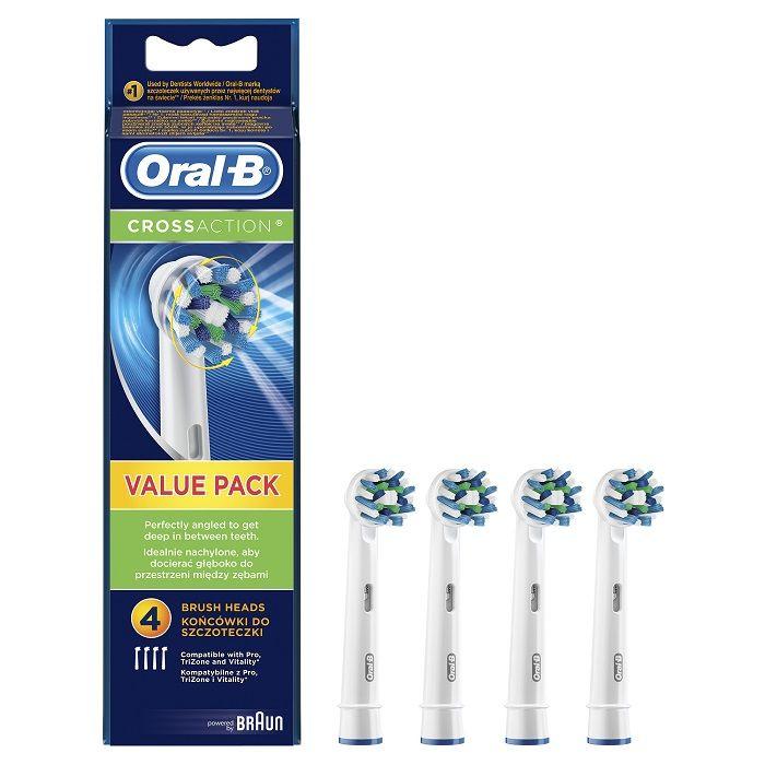 Oral-B EB 50-4 Cross Action náhradní kartáčky (4ks)