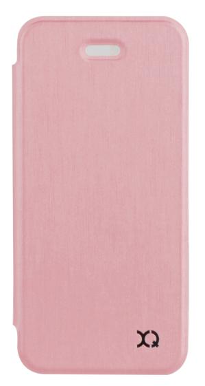 Xqisit Flap Cover Adour pouzdro pro iPhone SE/5S/5, růžová