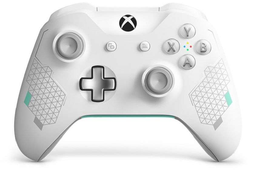 Microsoft Xbox One S Wireless Controller Sport White Special Edition