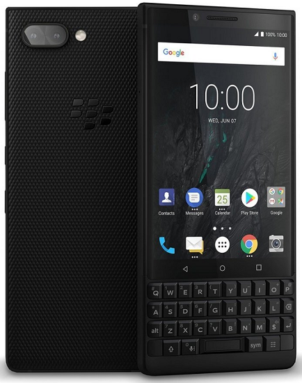 BlackBerry Key2 64 GB černý
