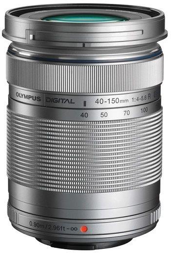 Olympus M.Zuiko Digital ED 40-150mm f/4.0-5.6 R, stříbrná