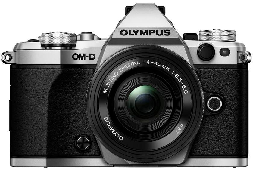 Olympus OM-D E-M5 Mark II stříbrná + M.ZUIKO Digital 14-42mm f/3,5-5,6