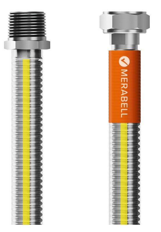 """Merabell Gas Classic R1/2"""" - G1/2"""" 125 cm plynová hadice"""