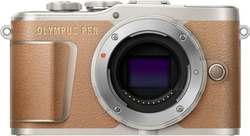 Olympus PEN E-PL9+M.Zuiko 14-42 mm hnědá