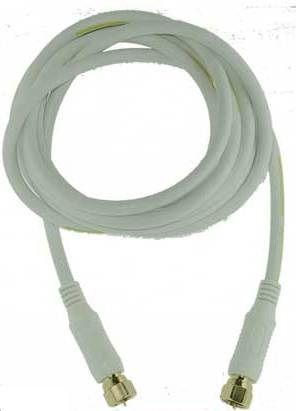 Mascom 7676-015W - koaxiální kabel F-F konektory, OFC, 1.5m