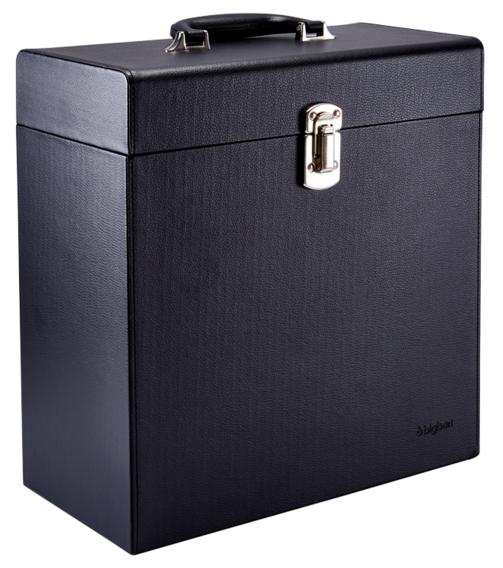Bigben VINYL CASE 02 černý kufr na LP desky