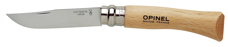Opinel N°08 Inox zavírací nůž