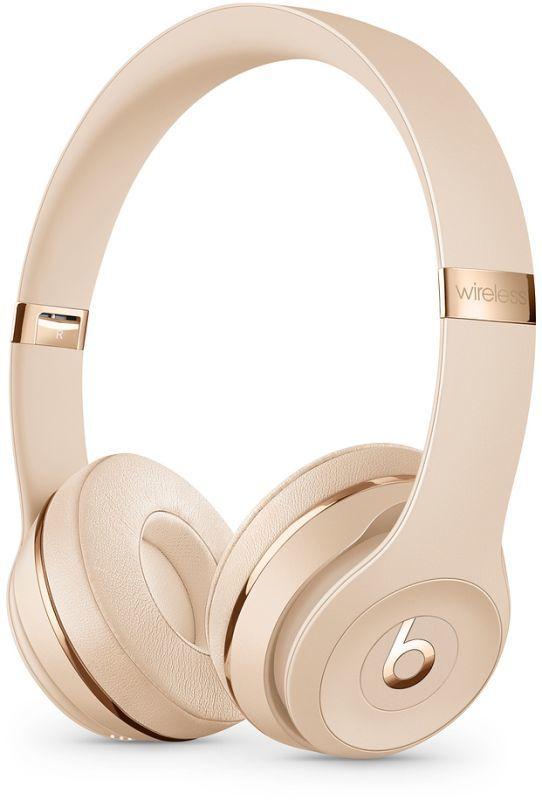 Beats Solo3 Wireless saténově zlaté