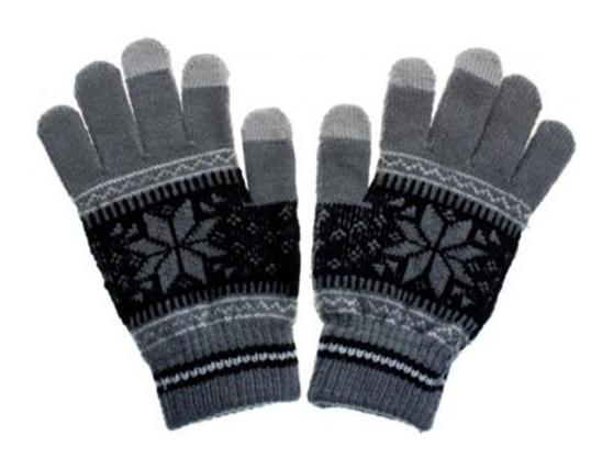 Aligator Nordic dámské rukavice na displej, šedé
