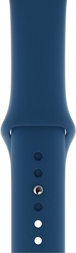 Apple Watch 44 mm sportovní řemínek, podvečerně modrý